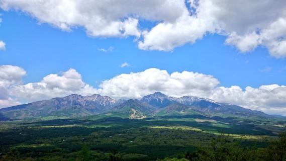 八ヶ岳(獅子岩より)