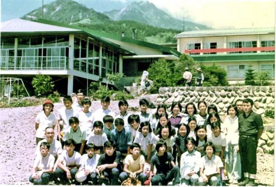 集合写真(日野市立七生中学校2年B組)